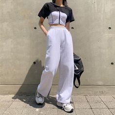 Korean Casual Outfits, Cute Casual Outfits, Kpop Outfits, Pretty Outfits, Fashion Outfits, Zara Fashion, Cute Fashion, Asian Fashion, Trendy Fashion