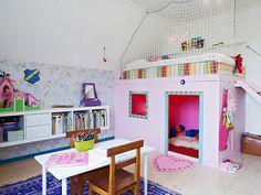 fun girls room