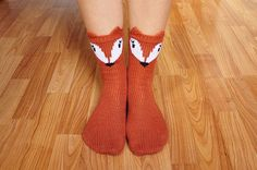 "Ravelry: ""Pawsome Pals"" Koala, Fox, and Pig Animal Socks pattern by Lauren Riker"