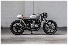 Kawasaki kZ 440 Cafe Racer ´82 - Retro Custom Bikes (Spain ...