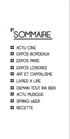 Sommaire BORD'ARLINE BDL#3