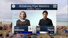 Billabong Pipe Masters: Round Three, Heat 1