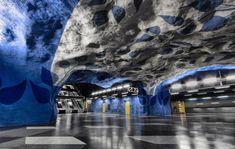 T-Centralen駅(スウェーデン-ストックホルム)