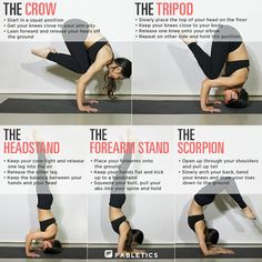 After breaking my back, i am determined to get back into yoga and accomplish these positions!