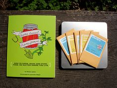 BOOK GIVEAWAY Until Dec. 28th:  Homesweet Homegrown Book by Robyn Jasko and packs of Organic Heirloom Seeds!
