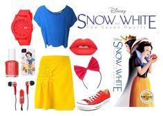 """modern snow white"" by joellesmolenaers on Polyvore featuring mode, 3.1 Phillip Lim, Go Silk, Converse, Mizco, Lime Crime, Essie, Lacoste, modern en women's clothing"