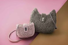preta porte bag crochet