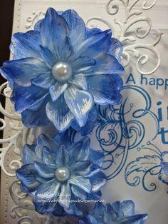Heartfelt creations Arianna Blooms - Blue