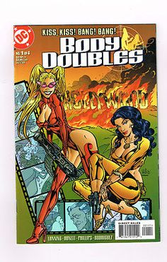 BODY DOUBLES Fun 4-part Modern Age series from DC Comics! NM http://r.ebay.com/33uj5A