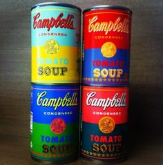 Soup learns to imitate art. Campbell's finally returns the favor. Andy would have been thrilled.