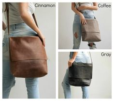 Leather Satchel, Womens Satchel, Messenger Bag, School Bag, Laptop Messenger…