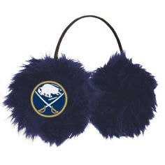 NHL Buffalo Sabres Earmuffs by Little Earth. $8.60. Function meets fashion meets fandom with Littlearth's Cheer Muff.  Featuring team embroidered logos over faux fur, these earmuffs will keep you warm, keep you in style, and keep you cheering for your favorite team on even the coldest days.  One size Fits All.. Save 57% Off!