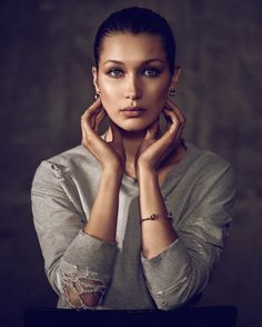 ☆ Bella Hadid | For Joe's Jeans Campaign | Fall 2016 ☆ #Bella_Hadid #Joes_Jeans #2016