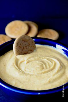 This pumpkin cheesecake dip is such an easy dip recipe that tastes just like pumpkin cheesecake! Perfect for fall parties, entertaining, and more!