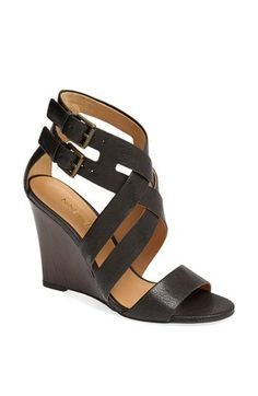 6be63c7b4ee Nine West  Maureen  Wedge Sandal available at  Nordstrom Hello Spring