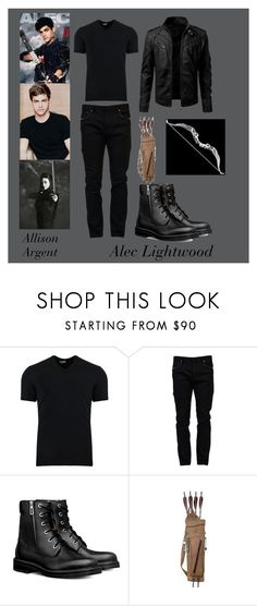 """Alec Lightwood' s Outfit"" by preetika80 ❤ liked on Polyvore featuring Dolce&Gabbana, Valentino, men's fashion and menswear"