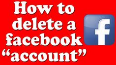 how to delete a facebook account permanently | tip by take lecture in ur...