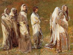 Cashmere - John Singer Sargent Paintings