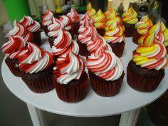 Mini cupcakes de chocolate