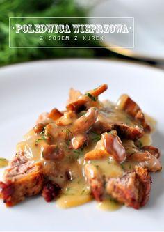 Pieczona polędwica wieprzowa - Kuchnia Doroty