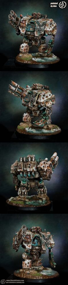 Death Guard Dreadnought of Nurgle - Anna Machowska