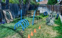 Our top five ideas for creating an epic Nerf obstacle course in your backyard this summer. Have fun on a budget this summer with these easy Nerf bunker ideas. Army Birthday Parties, Backyard Birthday Parties, Army's Birthday, Birthday Party Games, Birthday Design, 9th Birthday Party Ideas For Boys, Birthday Pizza, Backyard Party Games, Backyard Toys