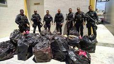 JORNAL O RESUMO - POLÍCIA JORNAL O RESUMO: Polícia Militar detona mais uma: 500kg de medicame...