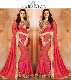 Buy latest collection of designer sarees, party wear saris and bollywood style saree online at ZaraaFab UK with easy and hassle-free process. All designs are eligible for free delivery.  #saree #sareeseduction #sareeblouse #bollywood #style #onlineshopping #silksaree #indianwear #womenhood #ethnicstyle