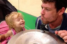 Adam Koessler: First picture of father reunited with dying daughter after arrest for giving her cannabis oil