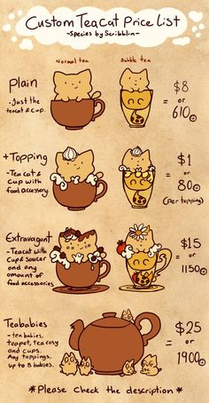 Some new features for teacats n.n Had to get this out of the way before I did anything else because of commission prices and all that hooey -Dragon breath idea from Krizpie Teacats are a closed spe. Mythical Creatures Art, Cute Creatures, Fantasy Creatures, Cute Animal Drawings, Kawaii Drawings, Cute Drawings, Creature Concept Art, Creature Design, Kawaii Doodles