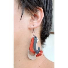 Octopus Leather Earrings, Octopus, Drop Earrings, Jewelry, Art, Fashion, Art Background, Moda, Jewlery