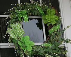 how to make st patrick day wreath - Google Search