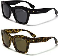 Black Brown Sunglasses Polarized Mens Ladies Large Retro Vintage Designer
