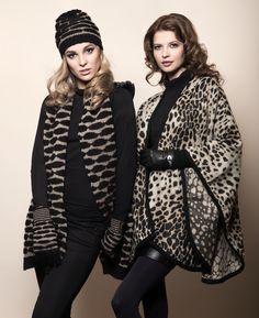 Pia Rossini Leonna Hat, Scarf & Glove, Azealia Wrap & Lopez Glove