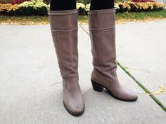 #Fossil gray #boots 30th Birthday Wishes, Gray Boots, New Dress, Fossil, Black Shoes, Riding Boots, Cookie, Footwear, Plaid