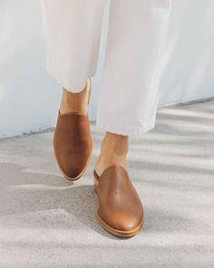 Vtg 80s Beige /& Caramel Leather Cap Toe Functional Lace Up Slingback Architectural Heel Shoe 8.5 M