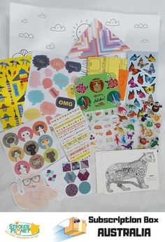 All involved were big fans of the Sticker planet subscription package we reviewed this week! Winner Winner if you love stickers, craft and smiling kids faces! See our review and unboxing video here   @lovestickerplanet #subscriptionbox #subscriptionboxau #subscriptionboxaustralia #subscriptionboxaddict #sticker #crafts #kidscraft Planet Box, Love Stickers, Winner Winner, Subscription Boxes, Planets, Fans, Love You, Australia, Big