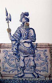 figura de convite Tiles, Ceramics, Statue, Earth, Inspiration, Portuguese Tiles, Ticket Invitation, Traditional, Historia