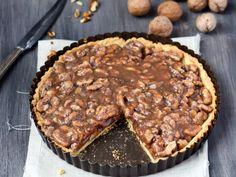 Tarte aux noix et au sirop d'érable : Recette de Tarte aux noix et au sirop d'érable - Marmiton