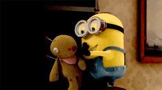 Today Funny Minions gifs (03:00:20 AM, Thursday 25, June 2015 PDT) – 10 pics
