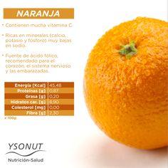 No te olvides de la #fruta de temporada.En enero, te recomendamos la #naranja, te aportará muchos beneficios a tu #organismo