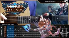 Soundtrack Mobile Legend - Cover (Fingerstyle Cover) -【TAB & Chord】Guita...