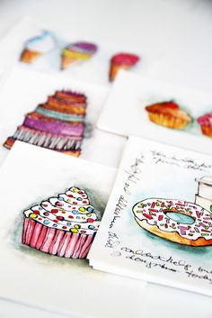 new notecards for online shop by mealisab, via Flickr