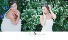 Bridal Portrait. Huntsville Alabama. Anna Pociask Photography. Spring Bridals. Spring blooms