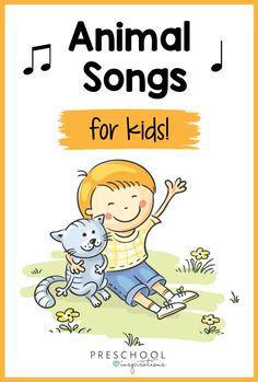 Animal songs are as fun as they are educational. Kids will love singing about their pets, farm animals, ocean animals, and more! Movement Preschool, Preschool Music, Preschool Activities, Preschool Library, Preschool Farm, Silly Songs For Kids, Kids Songs, Farm Animal Songs, Farm Animals