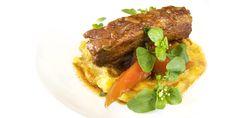 Costelinha de porco com mamão verde | vídeo-receita | DigaMaria.com