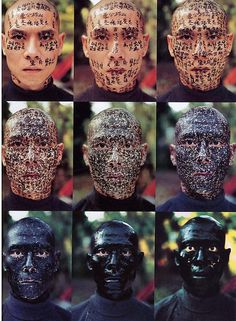Zhang Huan, Family Tree, 2000