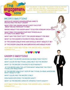Wedding Shower Game