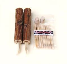 Toothpick Case Set of 2 and Peppermint Picks Man by midnightcoiler, $39.00