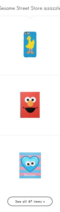 """""""Sesame Street Store @zazzle"""" by lataarv ❤ liked on Polyvore featuring home, home decor, wall art, men's fashion, men's clothing, men's shirts, men's t-shirts, tops and t-shirts"""